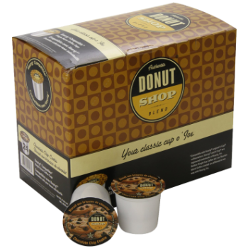 Authentic Donut Coffee Chocolate